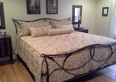 Custom Bedspread and Pillows